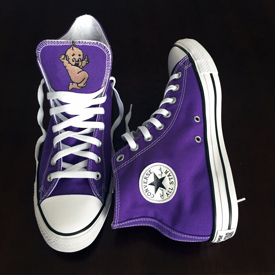 Customized Converse Sneakers- Hickman Kewpies Edition