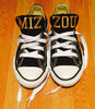 Customized Converse Sneakers- MIZZOU Edition (Youth)