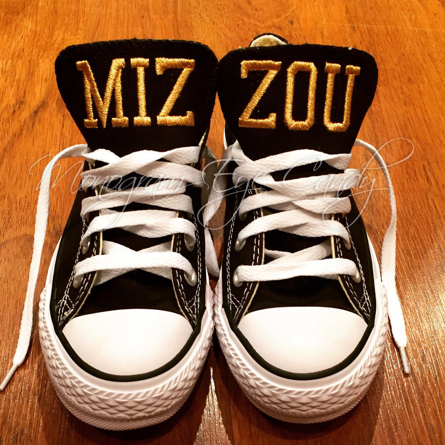 Customized Converse Sneakers-MIZZOU Edition (adult)