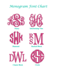 Monogrammed Bree Clutch-Hot Pink