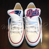 Customized Converse Sneakers- New England Patriots Edition