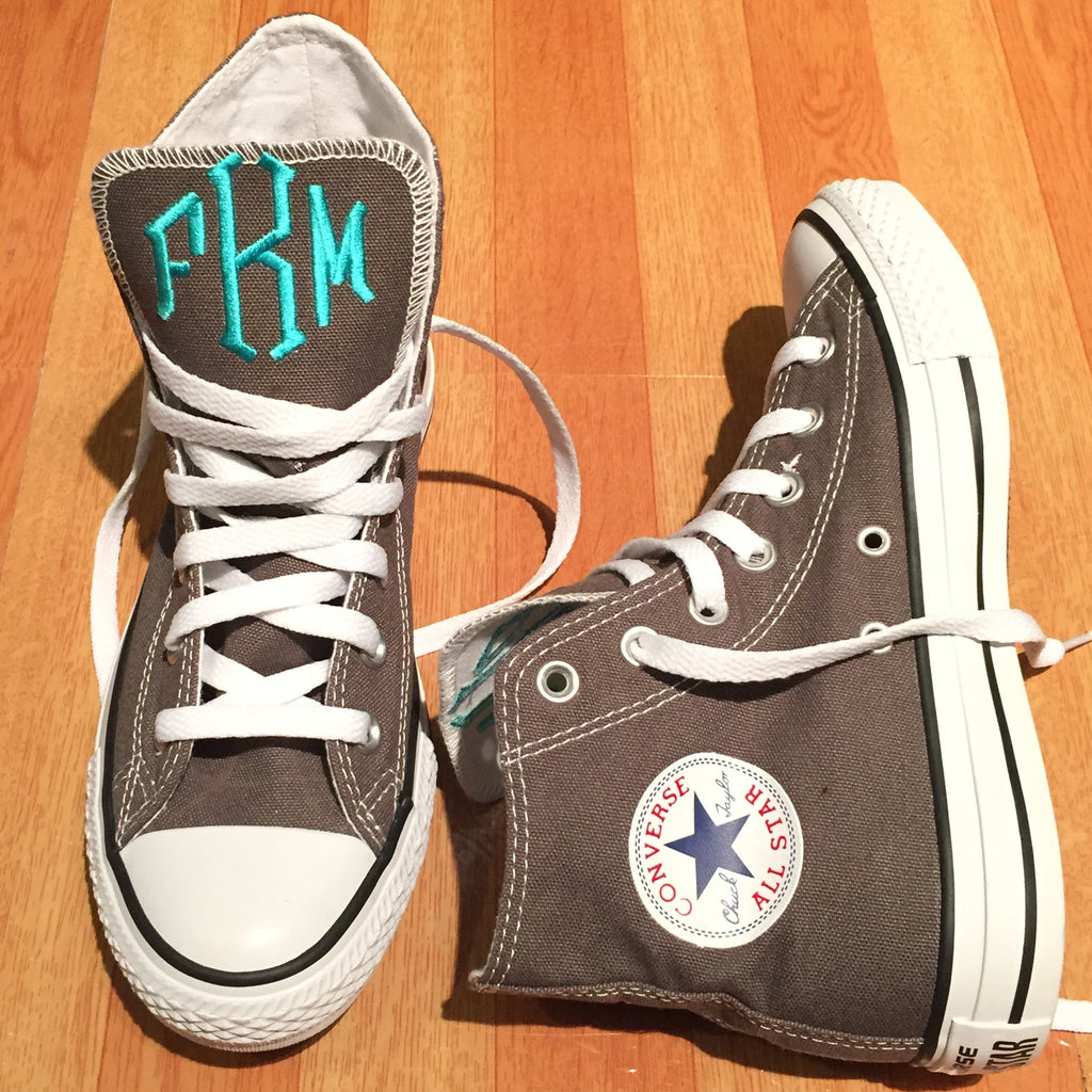 Monogram Converse Sneakers- High Top