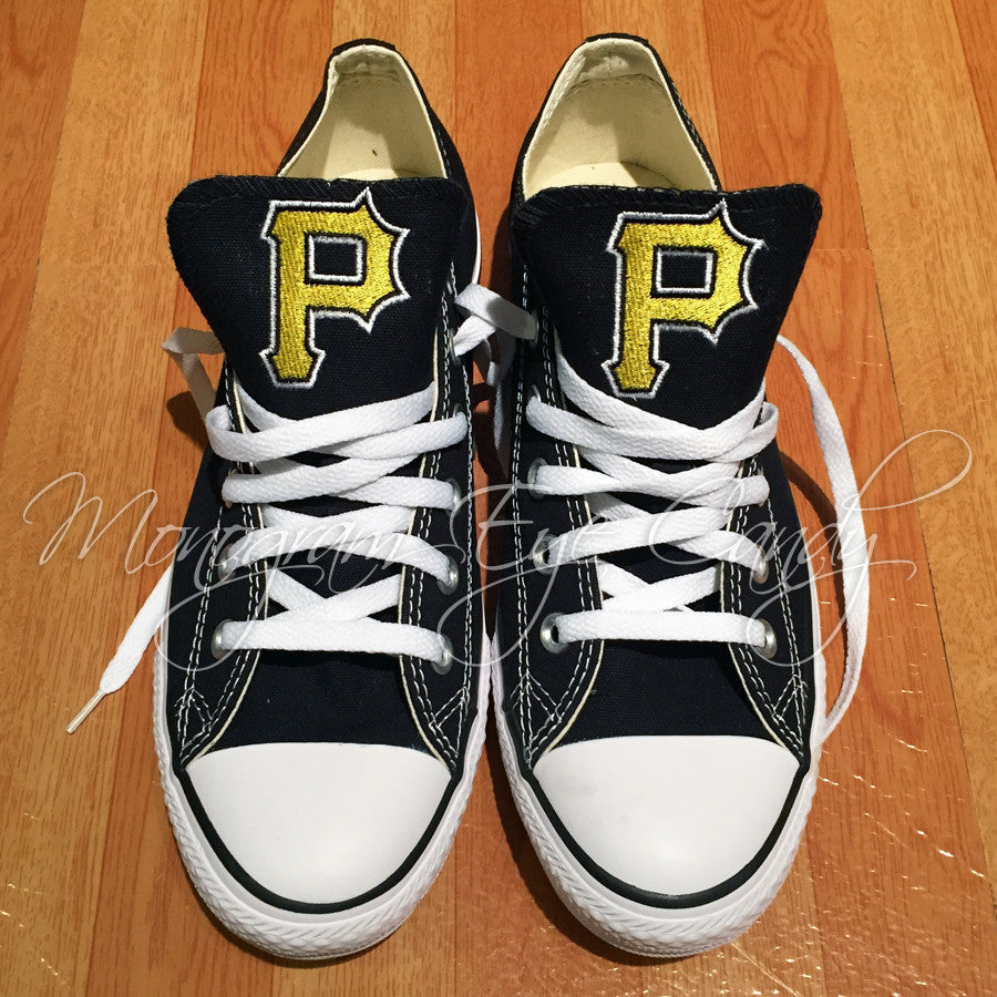 Customized Converse Sneakers- Pirates Edition