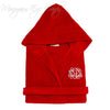 Monogrammed Terry Hooded Bathrobe-Kids