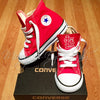 Customized Converse Sneakers- Red STL Cardinal (Toddler)