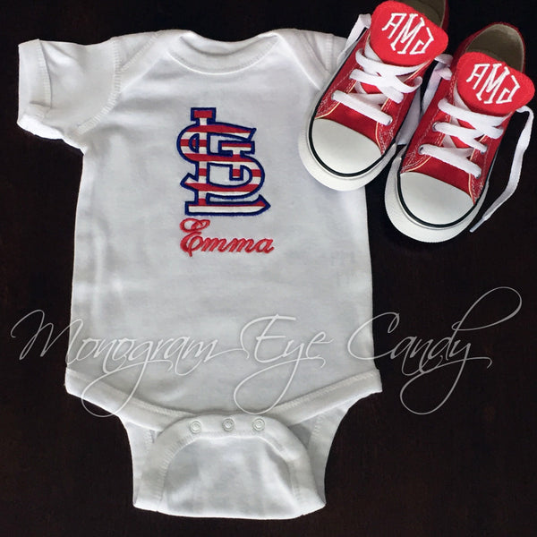 STL Onesie or Tee- Applique