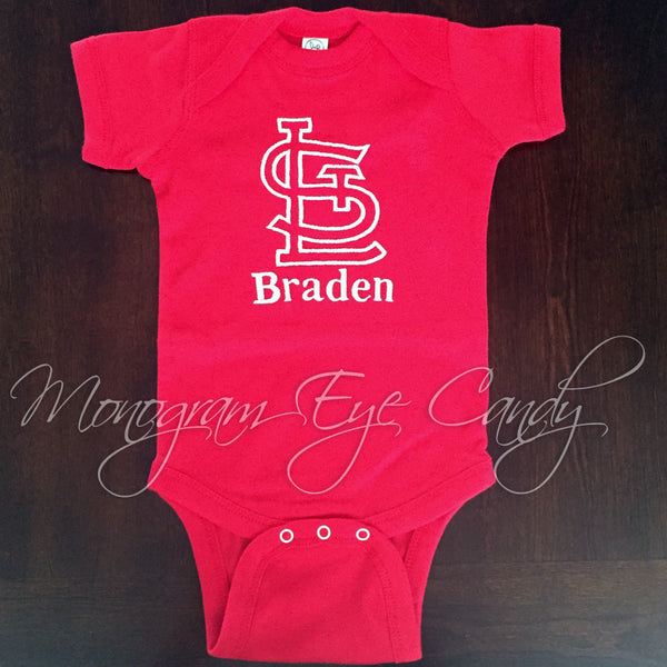 STL Onesie or Tee- Outline