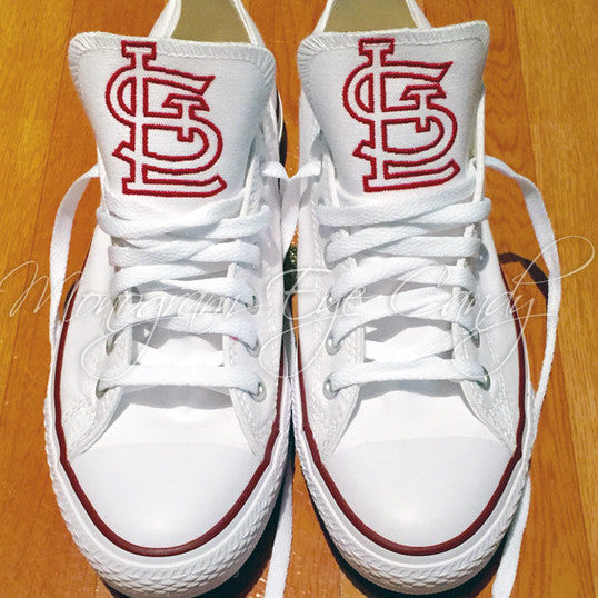 Customized Converse Sneakers-STL Cardinal Edition- Outline