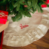Monogrammed Christmas Tree Skirt-Juco