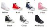 Monogram Converse Sneakers- Youth High Top
