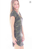 French Terry Camo Dress