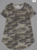 French Terry Camo Tee