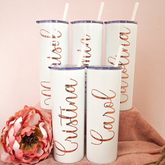 Personalized Skinny Tumbler (20 oz)