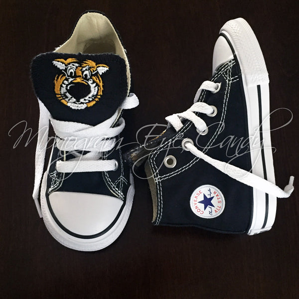 935013c30 Customized Converse Sneakers- Truman Edition (Toddler)- High Top