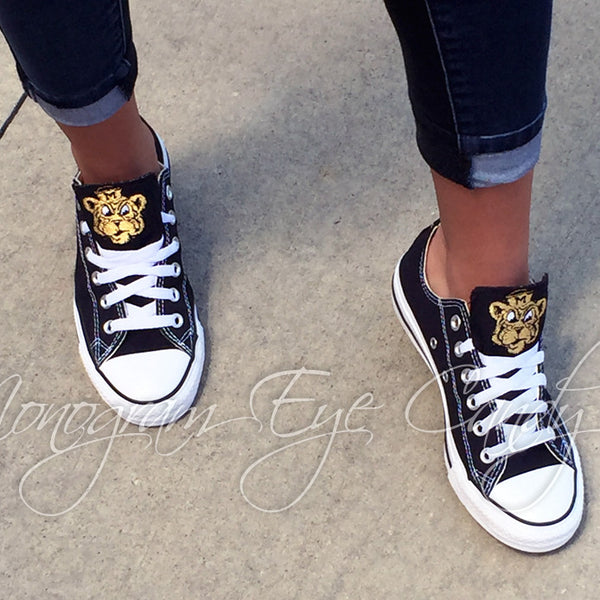 Customized Converse Sneakers-Vintage Tiger Edition
