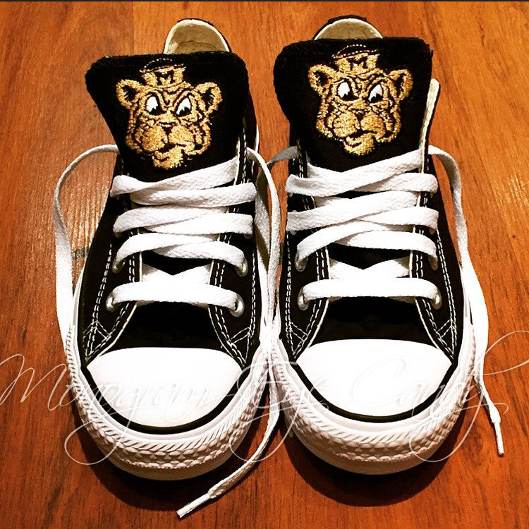 Customized Converse Sneakers-Vintage Tiger Edition (Youth)