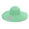 Monogram Floppy Hat- Mint