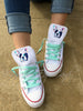 Customized Converse Sneakers- Frenchie