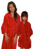 Monogrammed Terry Velour Bathrobe-Kids
