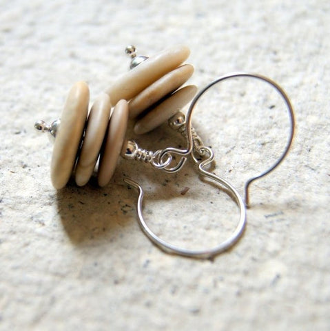 Beach Stone Cairn Earrings by Wear Your Wild