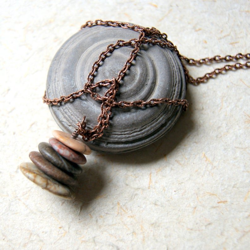 Autumn Cairn Necklace by Wear Your Wild