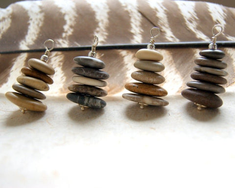 Sea Stone Cairn Necklace