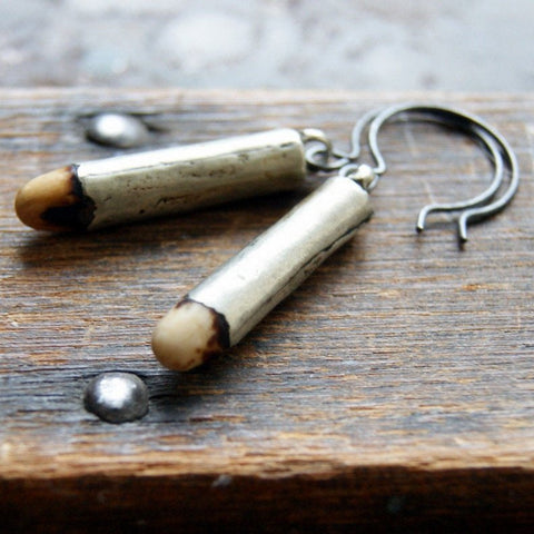 Antique Fertility Bead Earrings