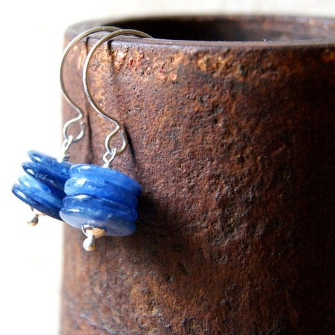 Kyanite Cairn Earrings