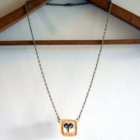 Ram Necklace by Wear Your Wild