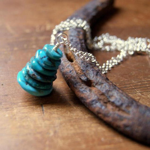 Turquoise Cairn Necklace