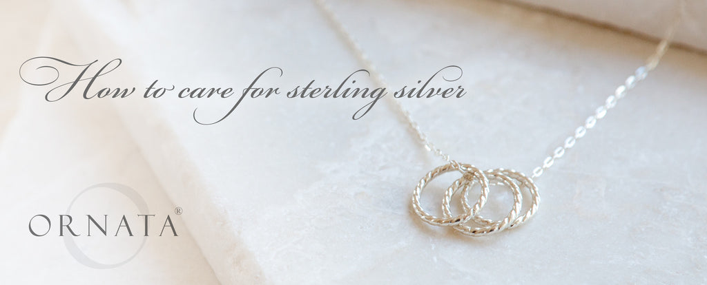 How to Store and Clean Sterling Silver