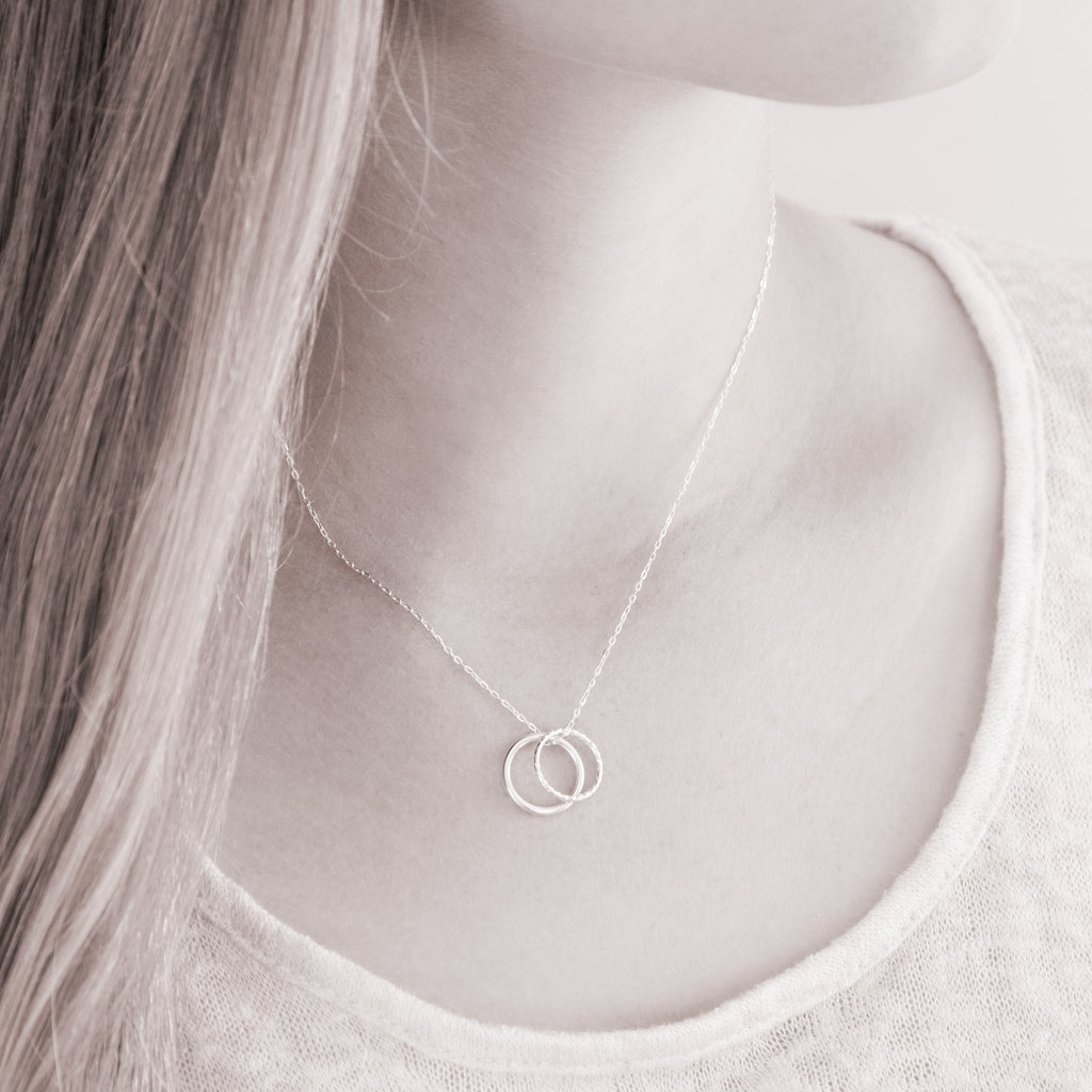 daughter in law generations sterling silver necklace on