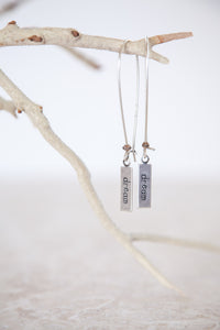 Silver Plated Dream Earrings