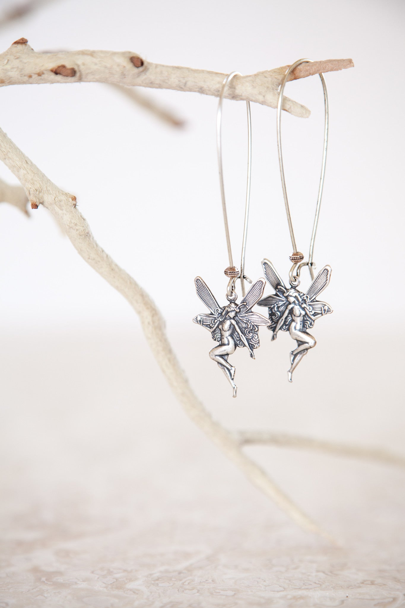 Silver Plated Fairy Earrings
