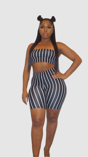 SHOW OFF TUBE BIKER SET - Spice Boutique