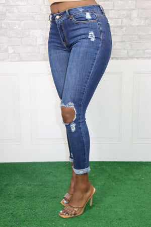 TAKER STRAIGHT LEG JEANS - Spice Boutique