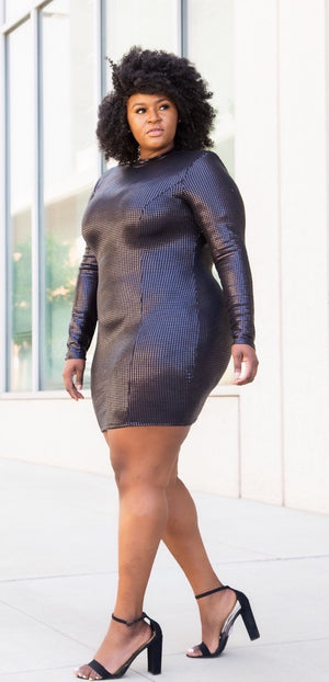 CURVE LIA SEQUIN DRESS - Spice Boutique
