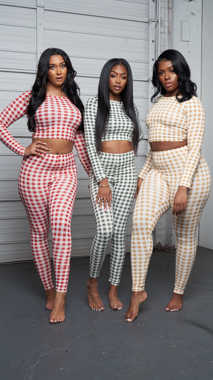 COMFY SET- YELLOW - Spice Boutique
