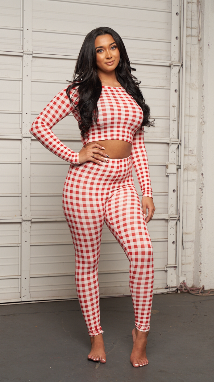COMFY SET- RED - Spice Boutique