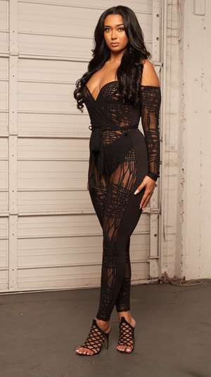 REFUSE TO LOSE JUMPSUIT - Spice Boutique