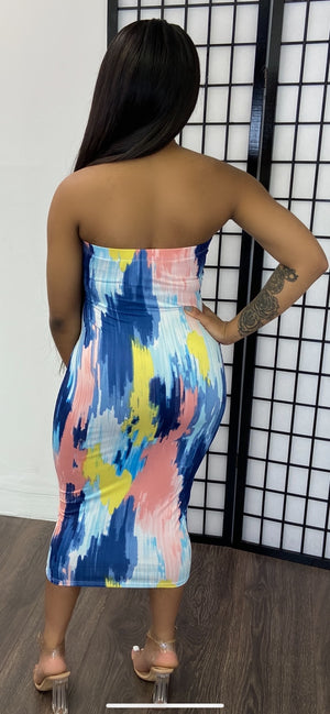 BLISSFUL TUBE DRESS - Spice Boutique