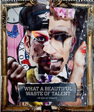 What A Beautiful Waste Of Talent - Coffee table book - Art by svlstg