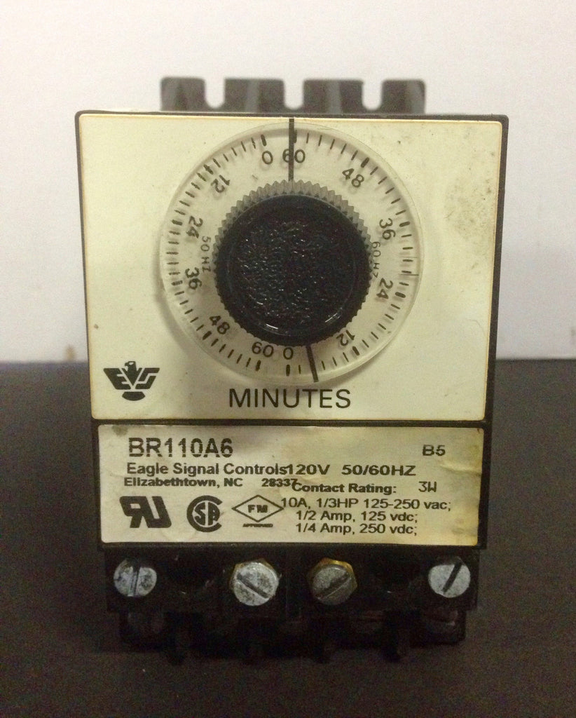 Eagle Signal Controls Timer BR110A6 - Electrical Equipment - Metal Logics, Inc. - 1