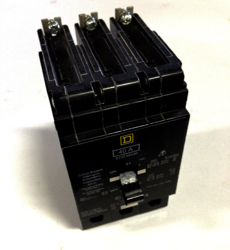 Square D Circuit Breaker EDB34040 - Electrical Equipment - Metal Logics, Inc. - 1
