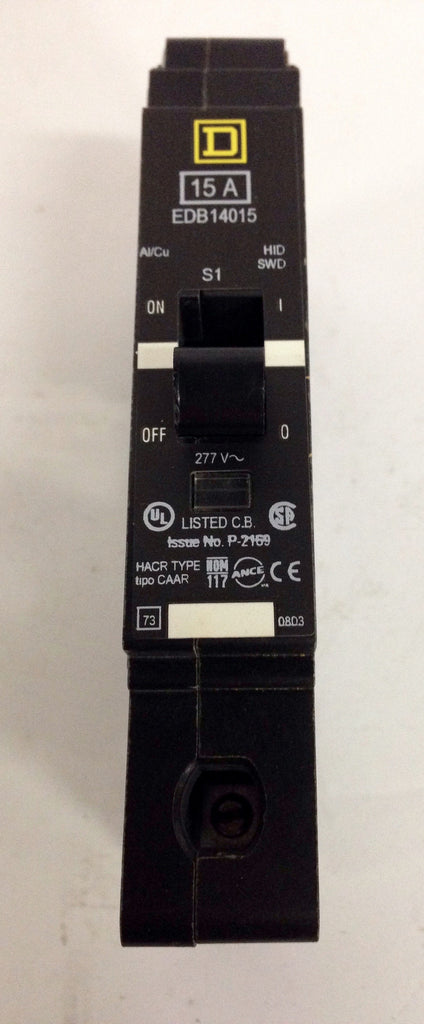 Square D EDB14015 Circuit Breaker