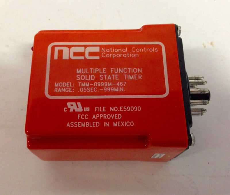 National Controls Corp. NCC TMM-0999M-467 Solid State Timer