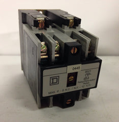 Square D AC Control Relay 8501X040