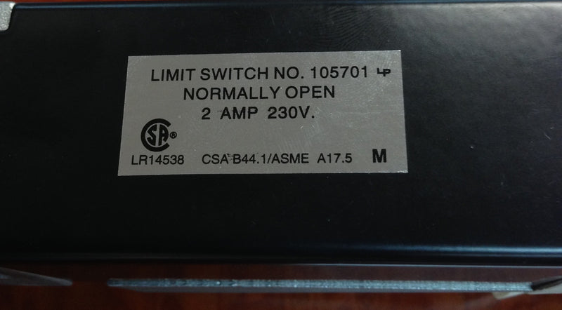 Dover Limit Switch 105701