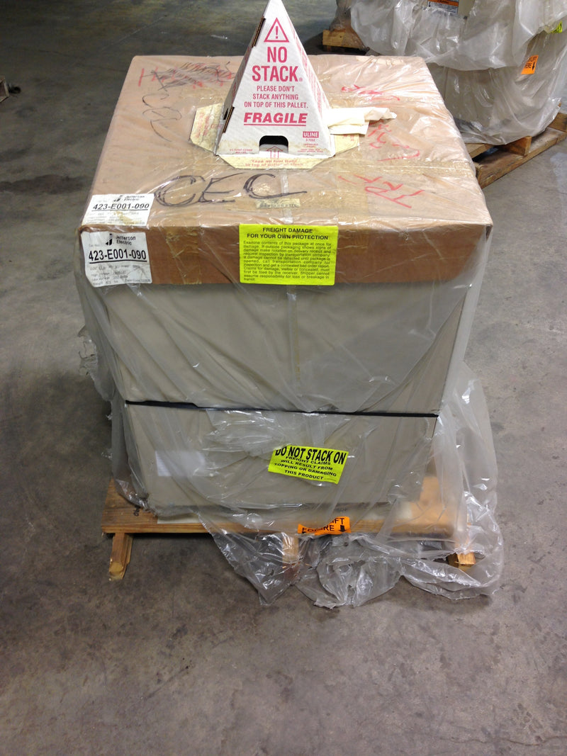 Jefferson Electric Dry Type Drive Isolation Transformer 423-E001-090 KVA 63 - Transformers - Metal Logics, Inc. - 3