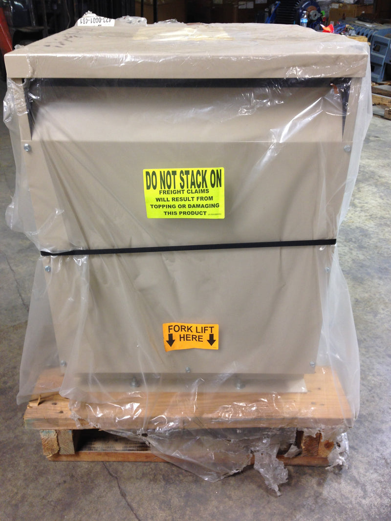 Jefferson Electric Dry Type Drive Isolation Transformer  423-0001-481 KVA 34 - Transformers - Metal Logics, Inc. - 5